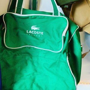 Vintage Lacoste travel bag